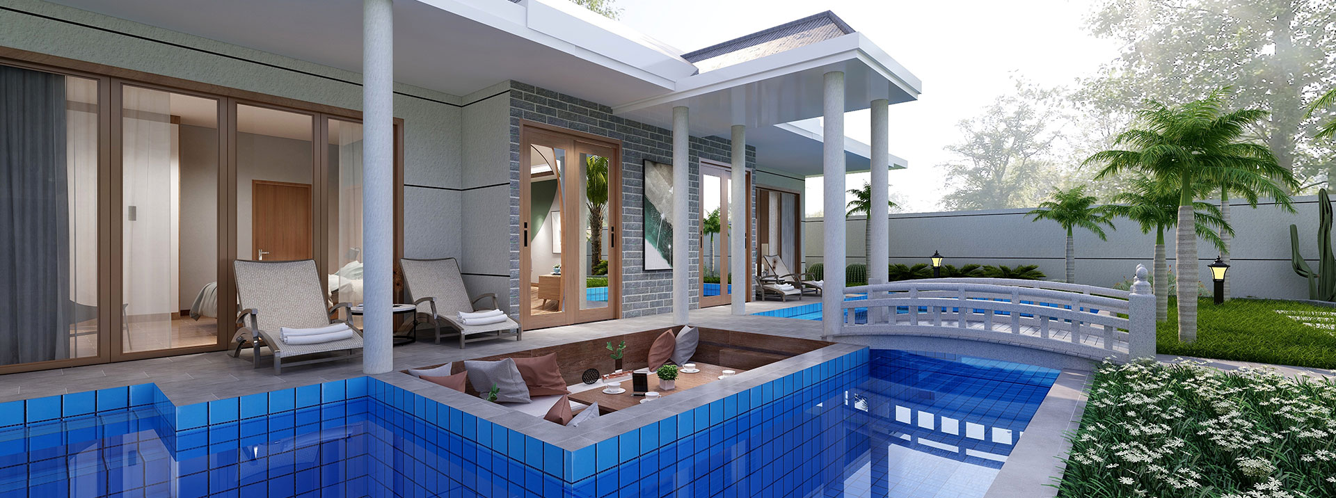 Two Bedroom Pool Villa for Sale